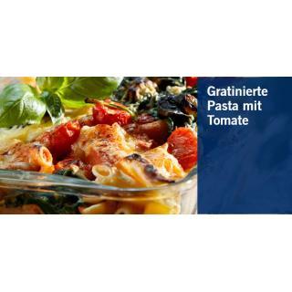Gratinierte Pasta mit Tomate