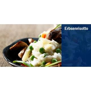 Erbsenrisotto