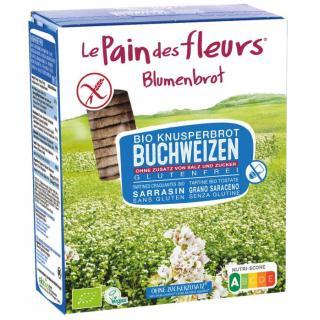 Blumenbrot Buchweizen oSalz