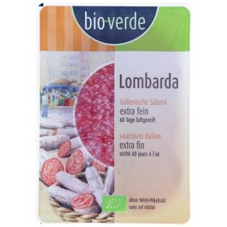 Ital. Salami Lombarda Aufschnitt 80 g