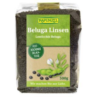Beluga Linsen schwarz