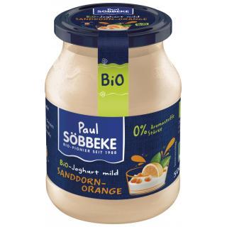 Bio Joghurt mild Sanddorn-Orange