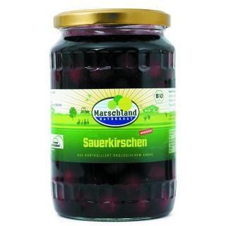 Bio-Sauerkirschen 720 ml Gl. MARSCHLAND