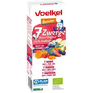 7 Zwerge Kindersaft - Unser Original