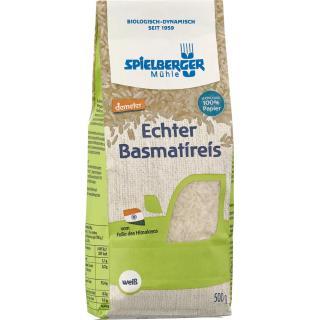 Basmatireis, weiß, demeter