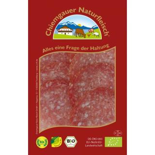 Putensalami geschnitten, mit Schweinefleisch