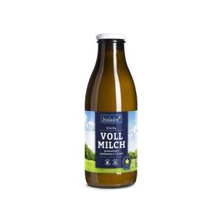 Vollmilch in der Flasche, mind. 3,7 % Fett