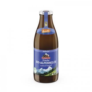 Frische Alpenmilch 3,8% Flasch