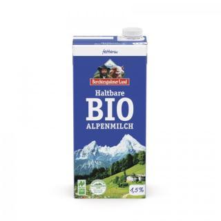 BGL Haltbare Bio-Alpenmilch - fettarm 1,5% Fett