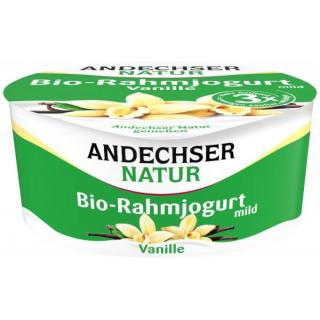 AN Bio Rahmjogurt Vanille 10%