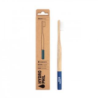 HYDROPHIL Nachhaltige Bambuszahnbürste blau / extra weich