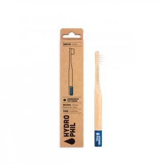 HYDROPHIL Nachhaltige Kinder-Bambuszahnbürste blau