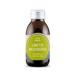 Shots Limette Weizengras
