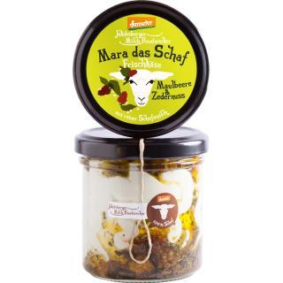 Mara das Schaf Demeter Frischkäse aus reiner Schafmilch