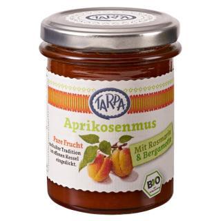 Aprikosenmus mit Rosmarin und Bergamotte